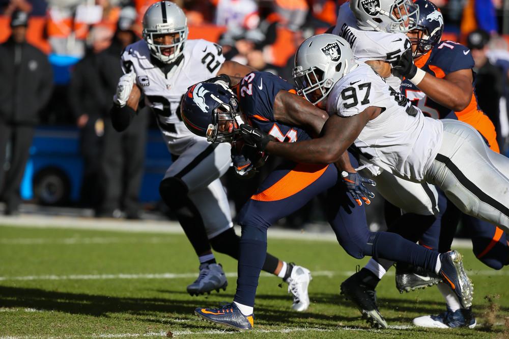 NFL: DEC 13 Raiders at Broncos