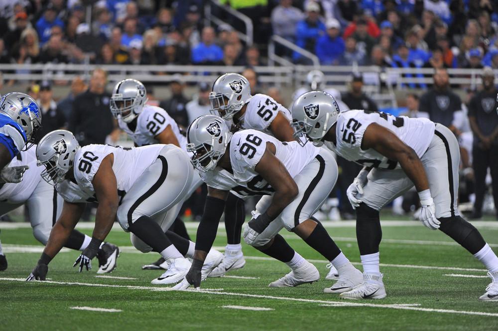 NFL: NOV 22 Raiders at Lions