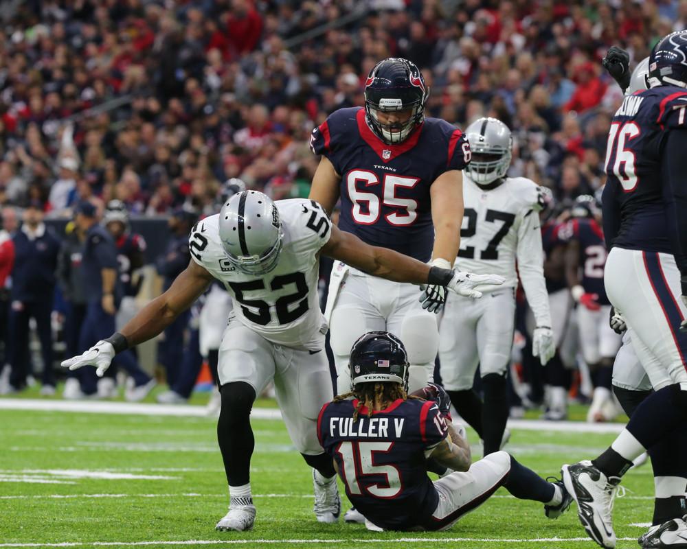 NFL: JAN 07 AFC Wild Card – Raiders at Texans